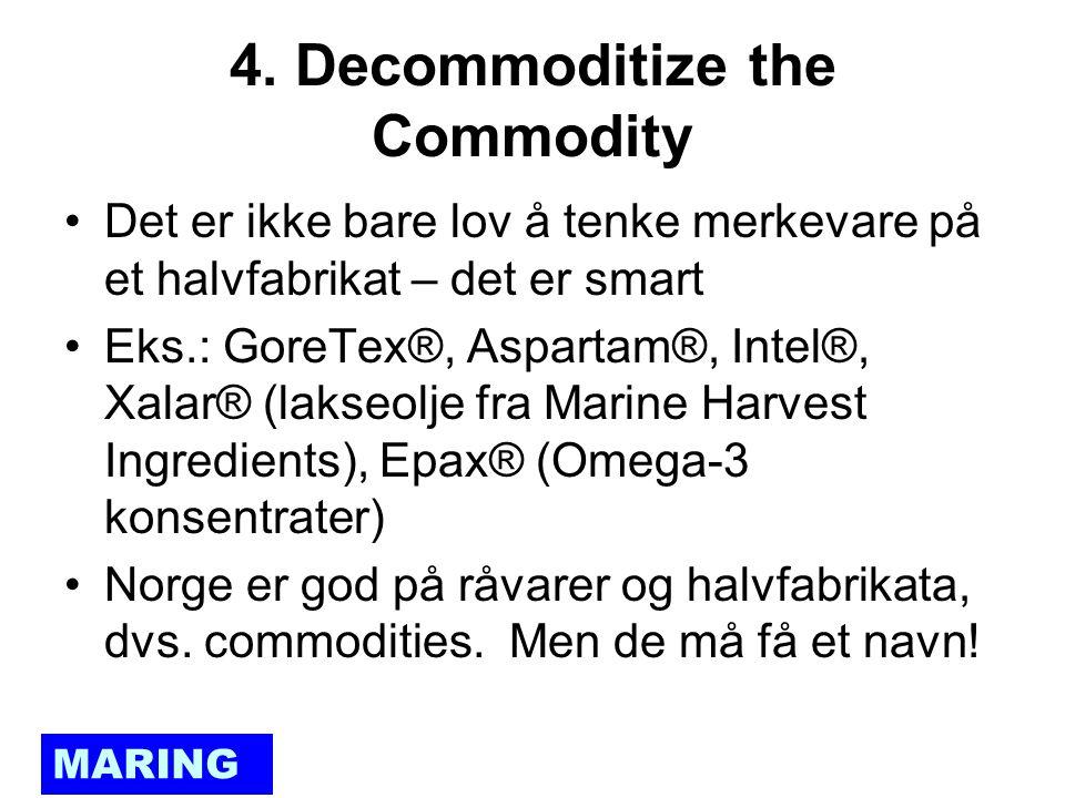 MARING NORGE – en internasjonal autoritet innen marine ingredienser Vi er nærmere virkelighetens verden enn drømmeland!