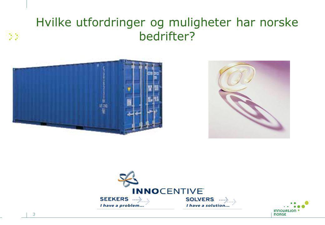 3 Hvilke utfordringer og muligheter har norske bedrifter?