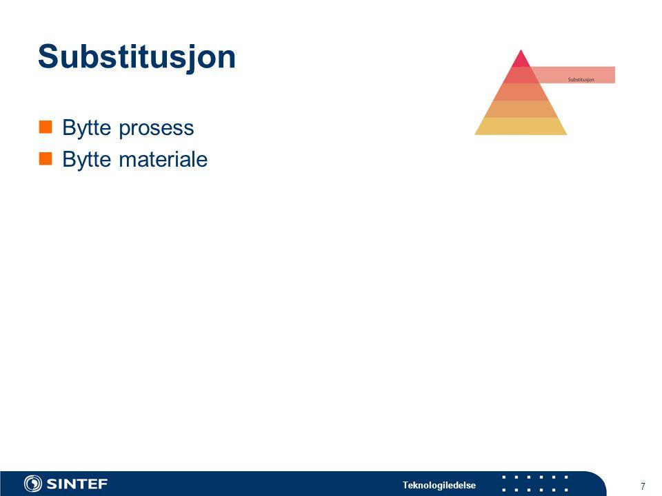 Teknologiledelse 8 Tekniske tiltak Produktivitet Fleksibilitet Manuelt Industrirobot Spesialmaskin Manipulato r