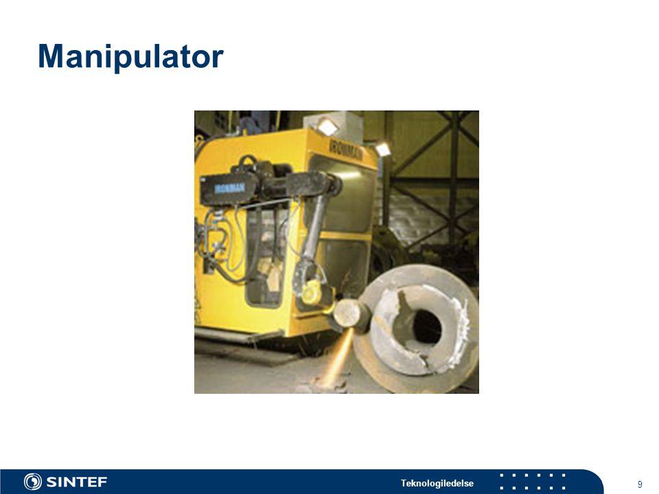 Teknologiledelse 9 Manipulator