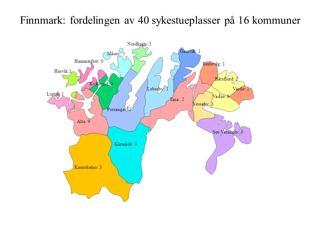 Desentralisert terminal omsorg ogkreft- behandling i Finnmark: «Fill out this tag and attach it to your big toe.