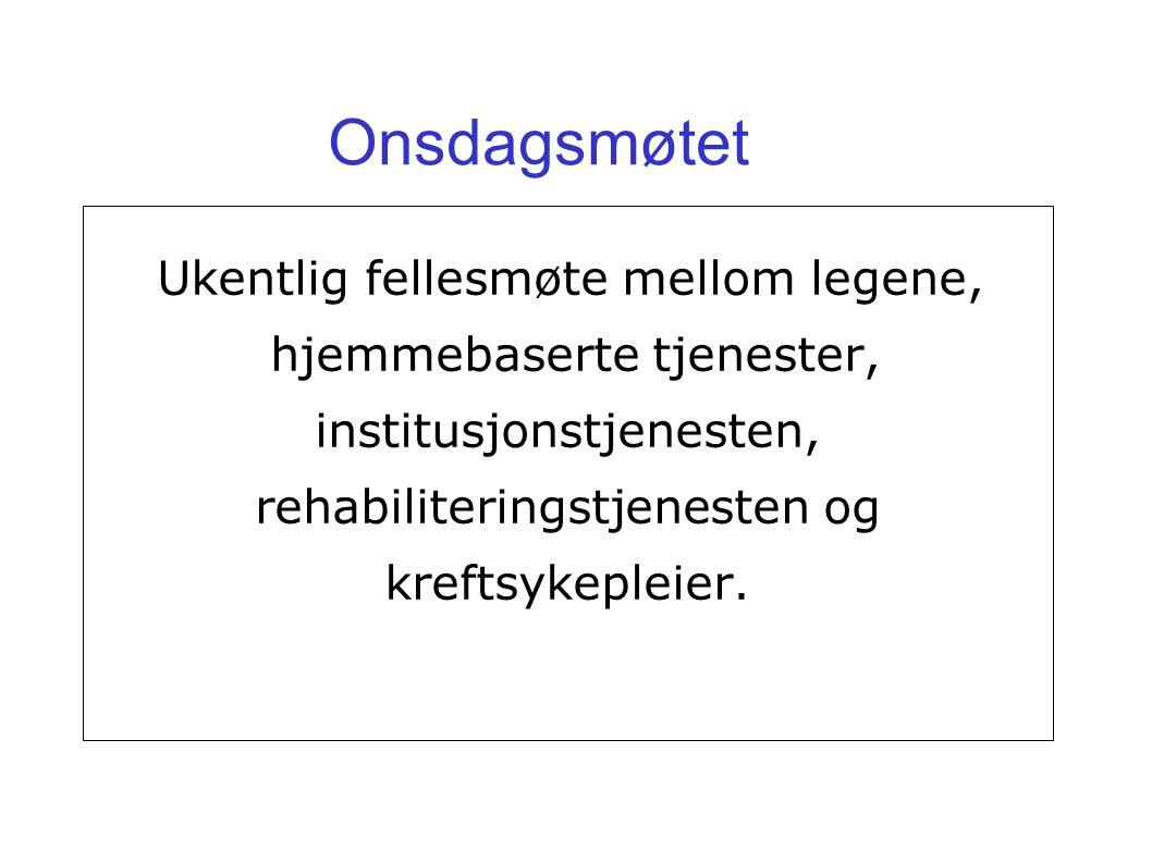 Prosjektorganisering: Et Tre-kommune-nettverk.