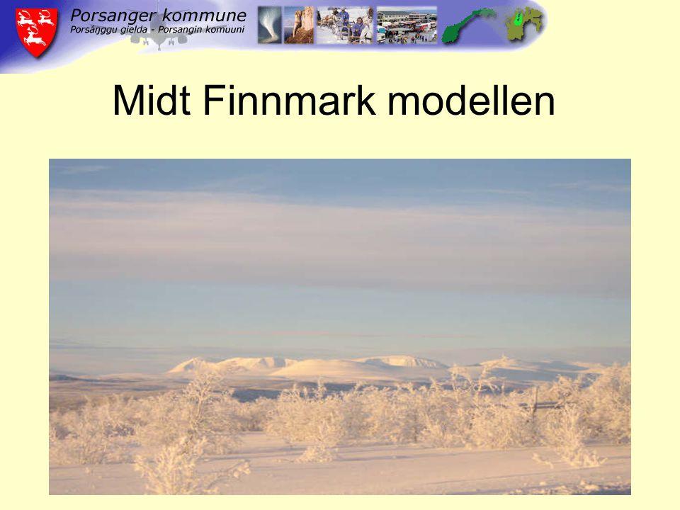 Midt Finnmark modellen