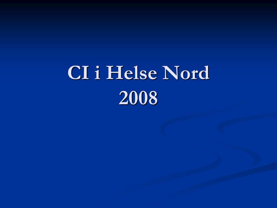 CI i Helse Nord 2008