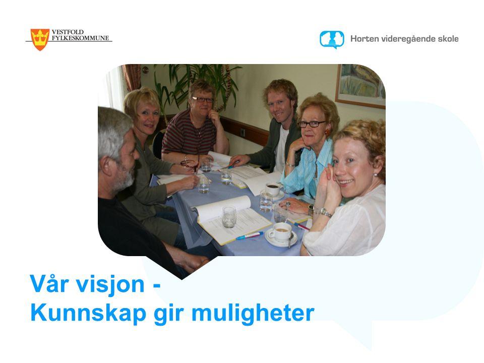 Vår visjon - Kunnskap gir muligheter