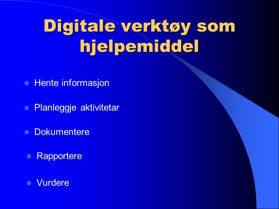 """Digital dimensjon nemnt to gongar: Friluftsliv etter 7.årssteg: """"Planleggje og gjennomføre overnattingsturar, eventuelt ved hjelp av digitale verktøy"""""""