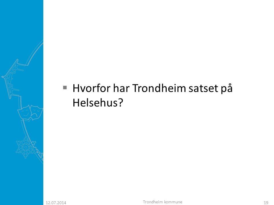 Trondheimsmodellen  Forbedring av kommunikasjonen mellom ulike tjenestenivå i helsetjenesten og implementering av intermediær behandling i et sykehjem kan medføre bedre helse- og omsorgstjenester for eldre pasienter.