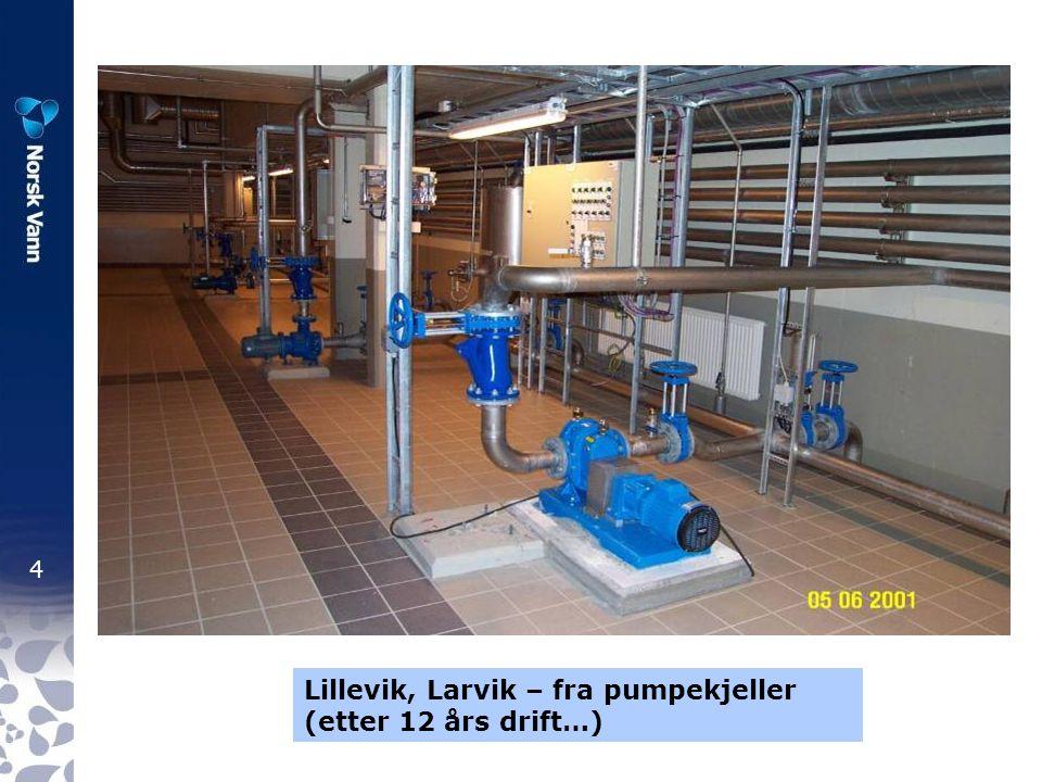 4 Lillevik, Larvik – fra pumpekjeller (etter 12 års drift…)