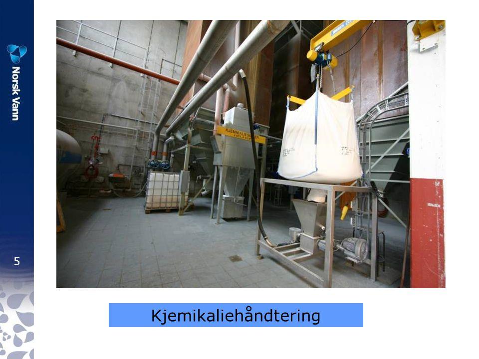 16 Lillevik renseanlegg Heise-innretning på plass – i tilfelle råttfelle …