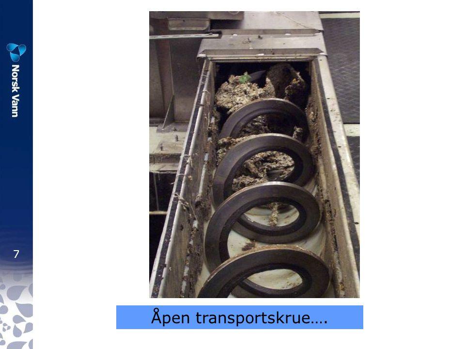 7 Åpen transportskrue….