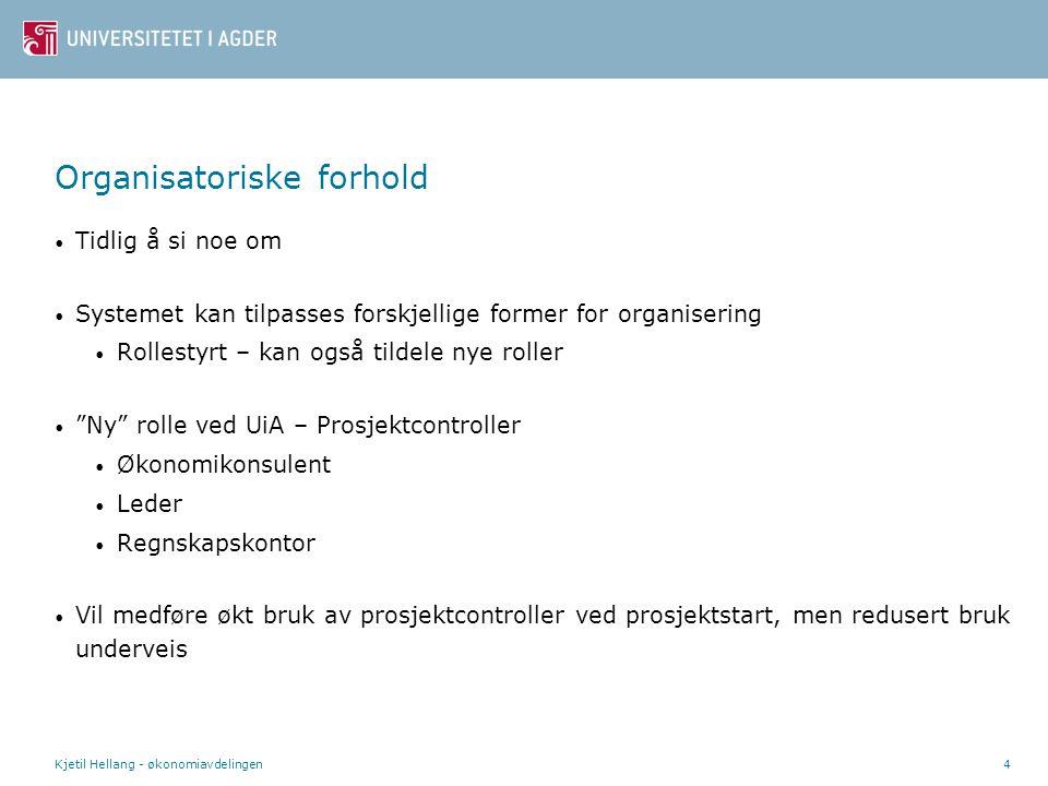 Kjetil Hellang - økonomiavdelingen5 Interessert.