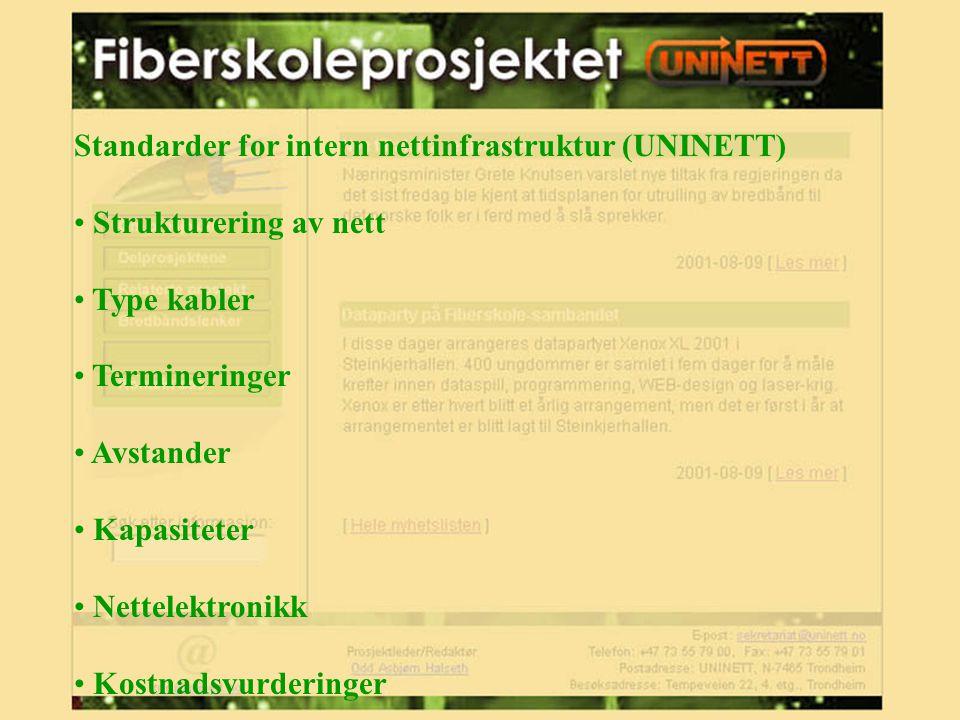 Organisering og drift av nett og tjenester (UNINETT/UiO) Administrative systemer/studentsystemer Serverplattform Driftsomgivelser Driftsrutiner Grad av sentralisering Sikkerhet Responstider/oppetid