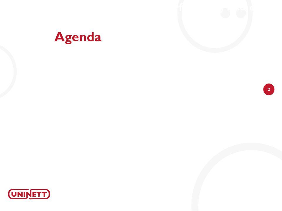 2 Agenda Denne samlingen vil ha mye leverandørfokus i og med at det er nye leverandører for trådløsutstyr