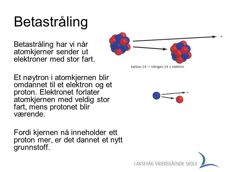 Gammastråling Gammastråling er elektromagnetisk stråling som består av energirike fotoner.