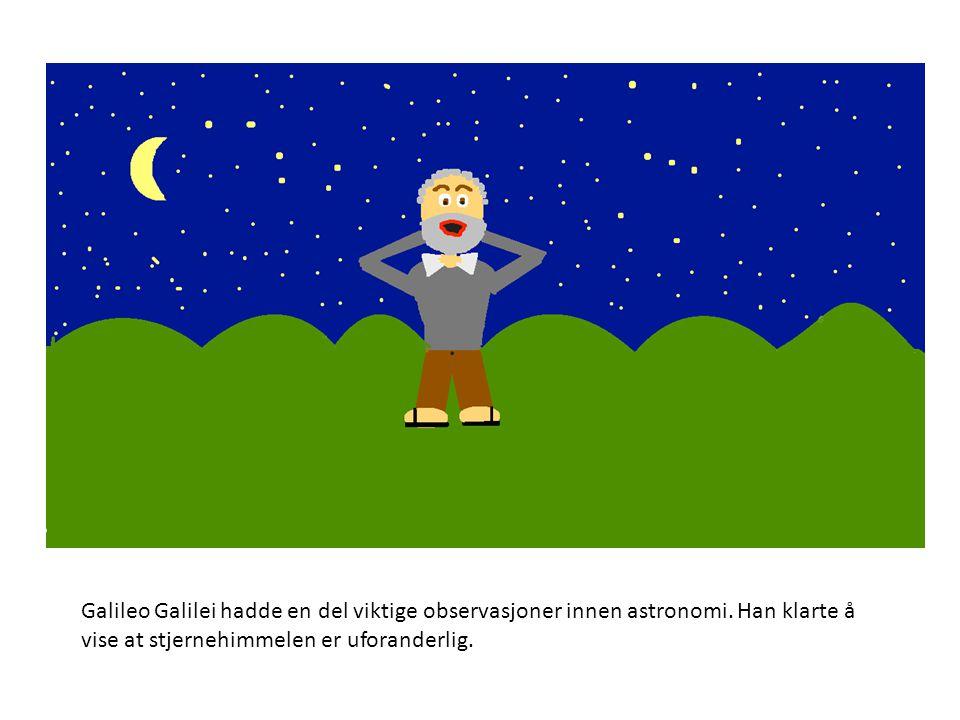 Galileo Galilei bygde mange tekniske instrumenter, disse gjorde det mulig for han å gjennomføre forsøk.