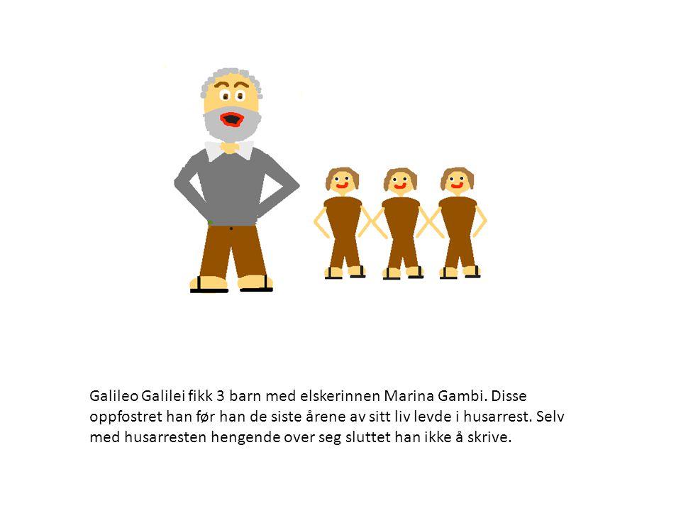 8.januar 1642 døde Galileo Galilei 77 år gammel etter en lang karriere og 8 år i husarrest.