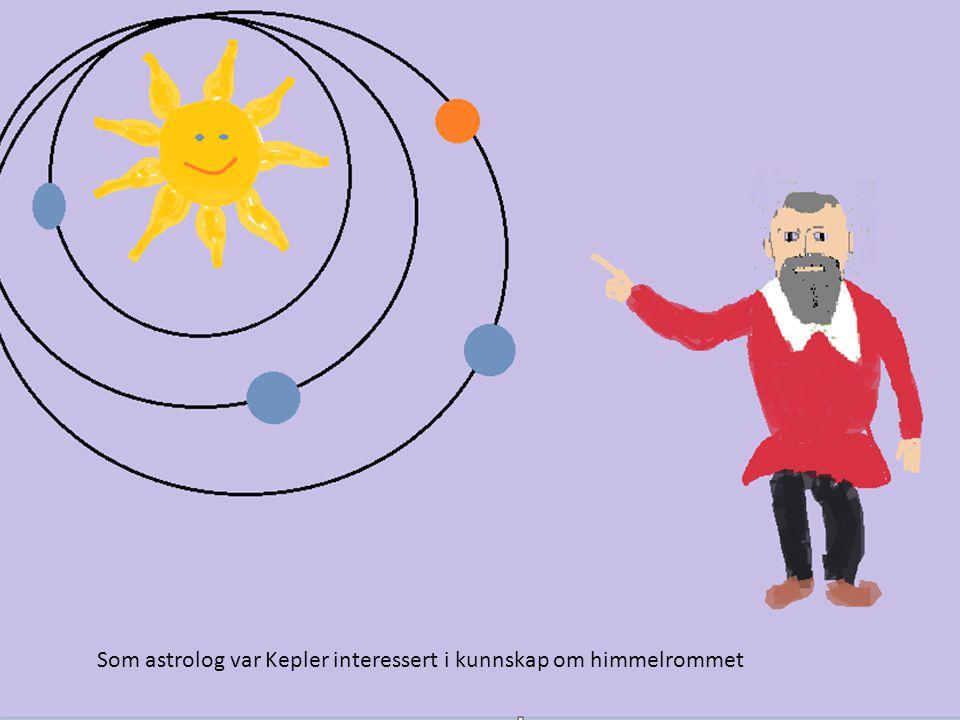 Som astrolog var Kepler interessert i kunnskap om himmelrommet