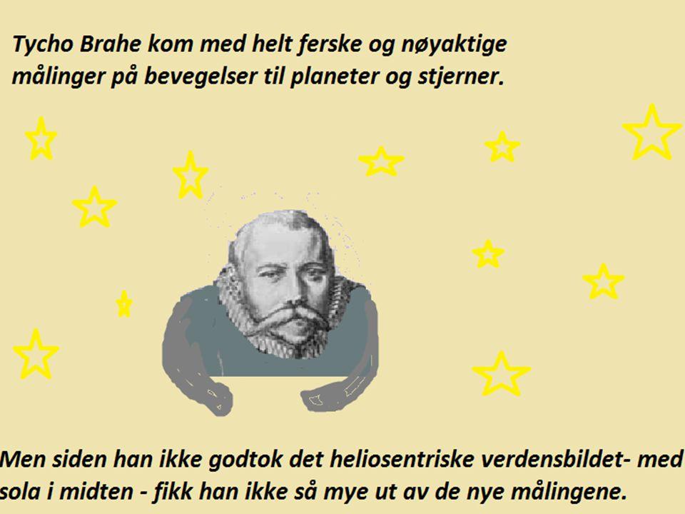 Da Tycho Brahe døde ett år etter, fikk Kepler tilgang til alt observasjonsmaterialet hans.