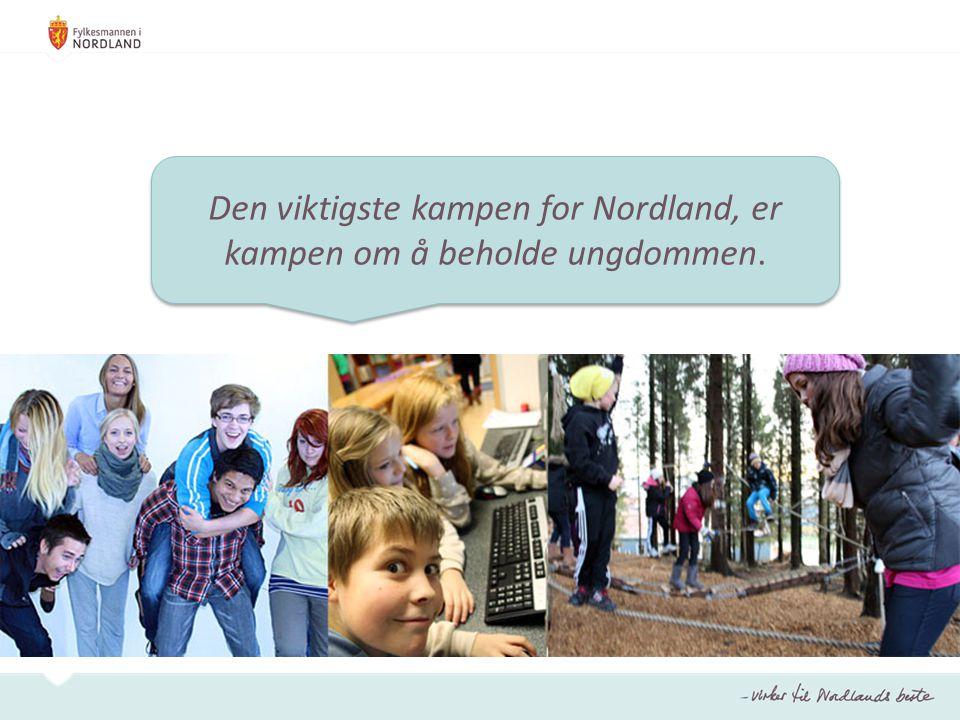 Den viktigste kampen for Nordland, er kampen om å beholde ungdommen.