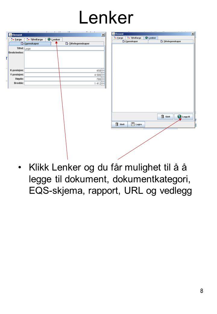 Dokument: Her får du søke etter EQS-dokument, anten dei er godkjente eller under utforming.
