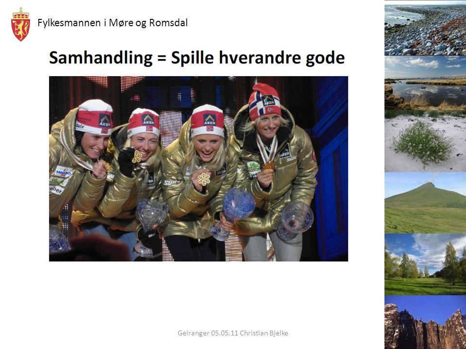 Fylkesmannen i Møre og Romsdal Geiranger 05.05.11 Christian Bjelke