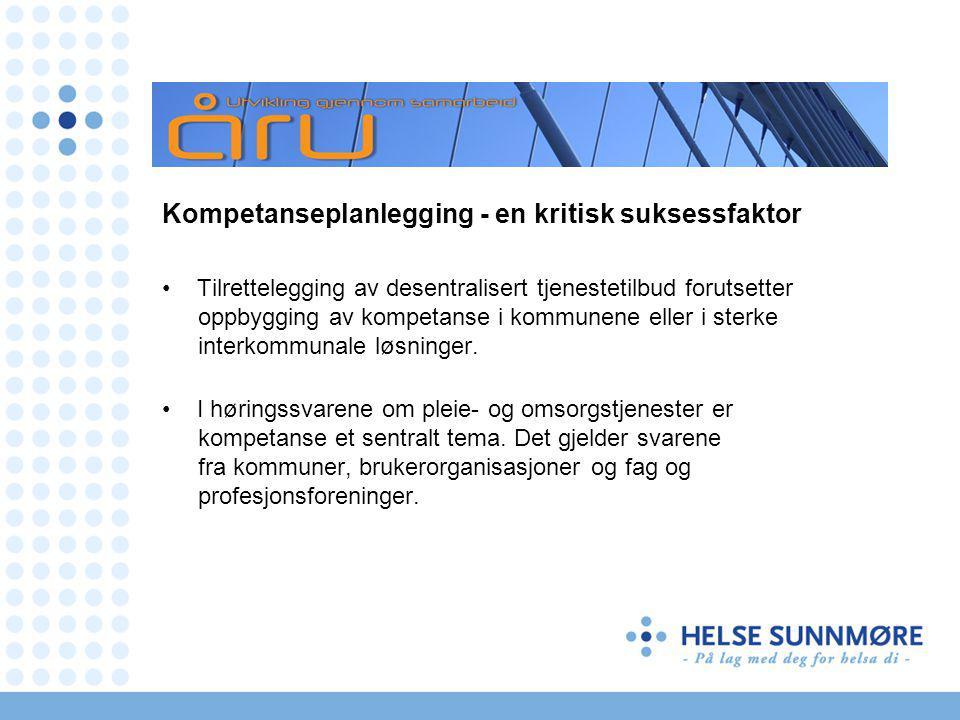 Nasjonale mål og prioriterte områder 2011 Kommunene: Styrking av det helsefremmende og forebyggende arbeidet.