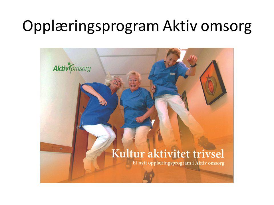 Opplæringsprogram Aktiv omsorg