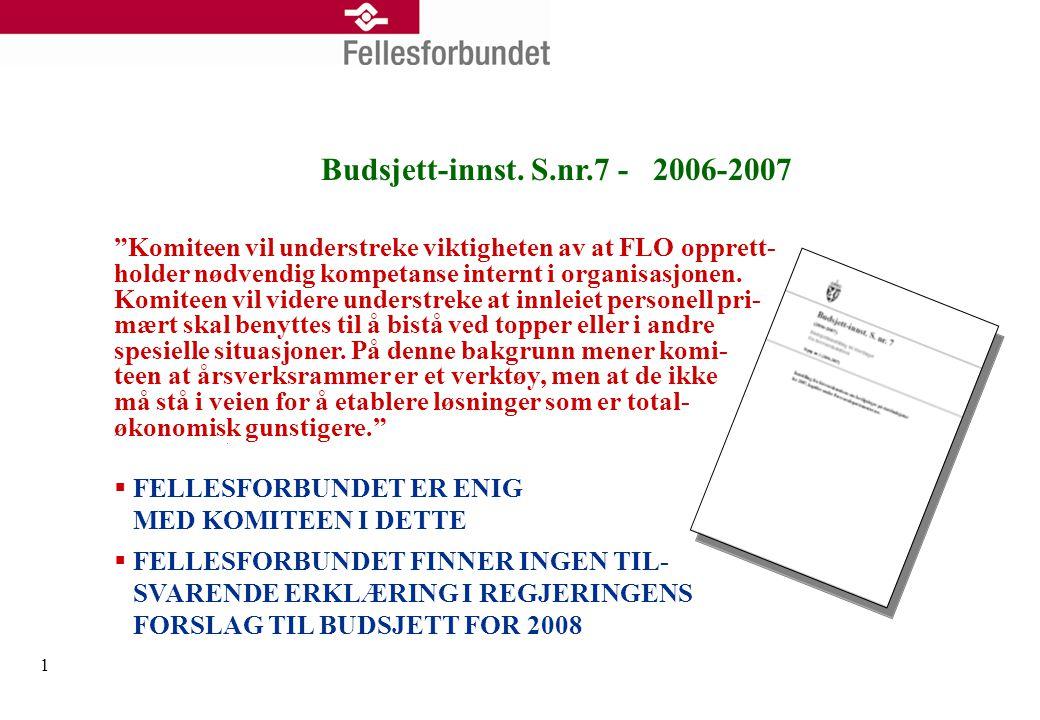2 Dagens situasjon - innleie  Bruken av innleid arbeidskraft er økende og brer om seg  Ubåtverkstedet i Bergen reduserte fra 60 til 15 innleide – ansatte 25 selv; kostnadsreduksjon på ca.
