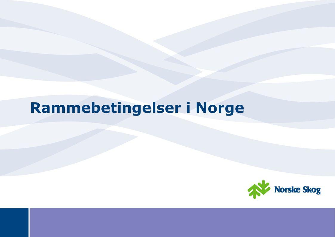 Rammebetingelser i Norge