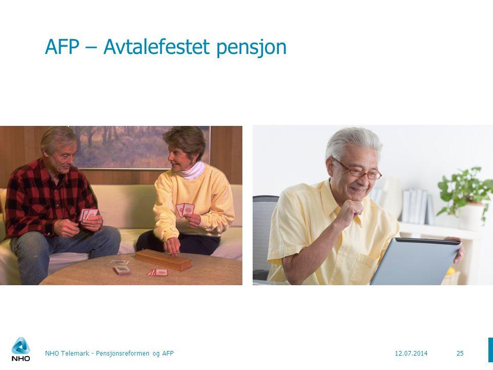 AFP – privat sektor  Lønnsoppgjøret 2008 hadde AFP (privat sektor) som hovedsak  Lovforslag lagt frem september 2009.