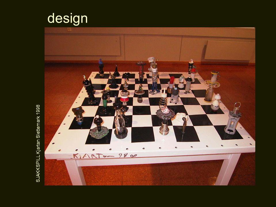 design SJAKKSPILL Kjartan Slettemark 1998