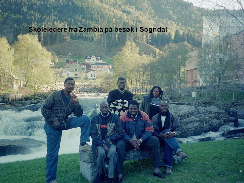 Skoleledere fra Zambia på besøk i Sogndal