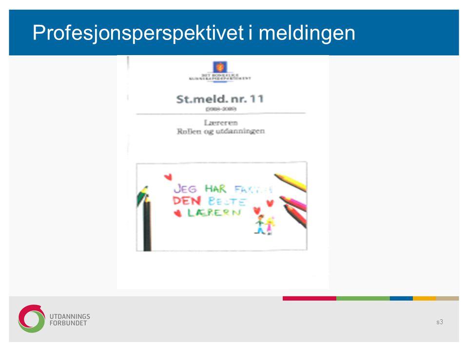 En framtidsrettet utdanning? s4