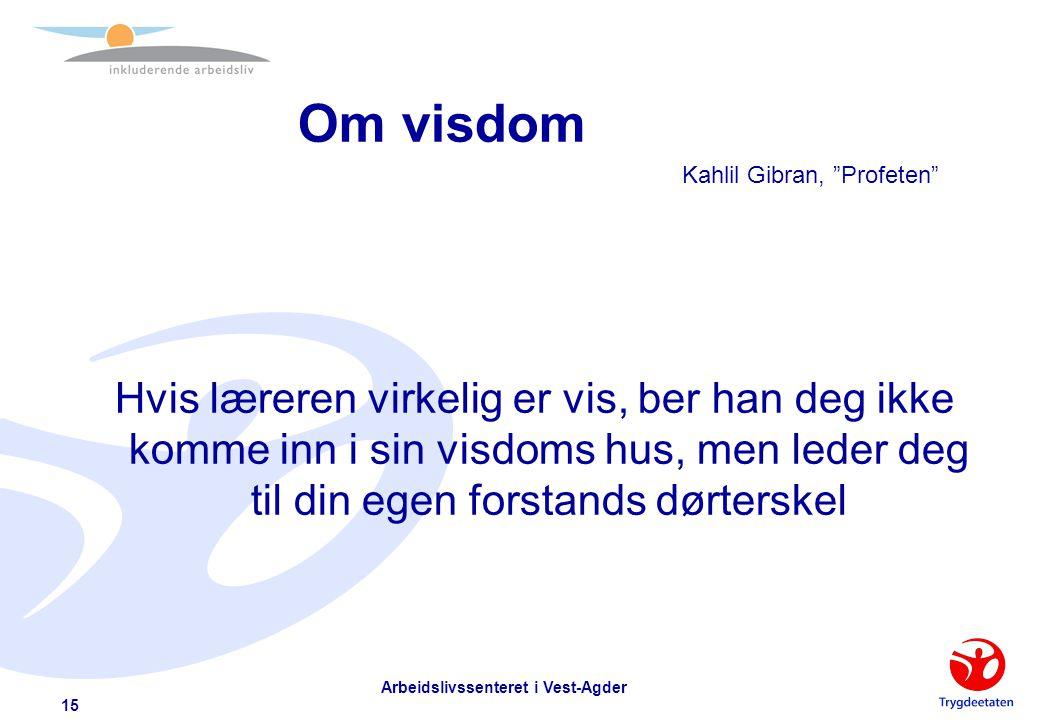 Om kunnskap Kahlil Gibran, Profeten Ingen kan lære deg noe som ikke allerede halvveis slumrer i din vitens morgendemring