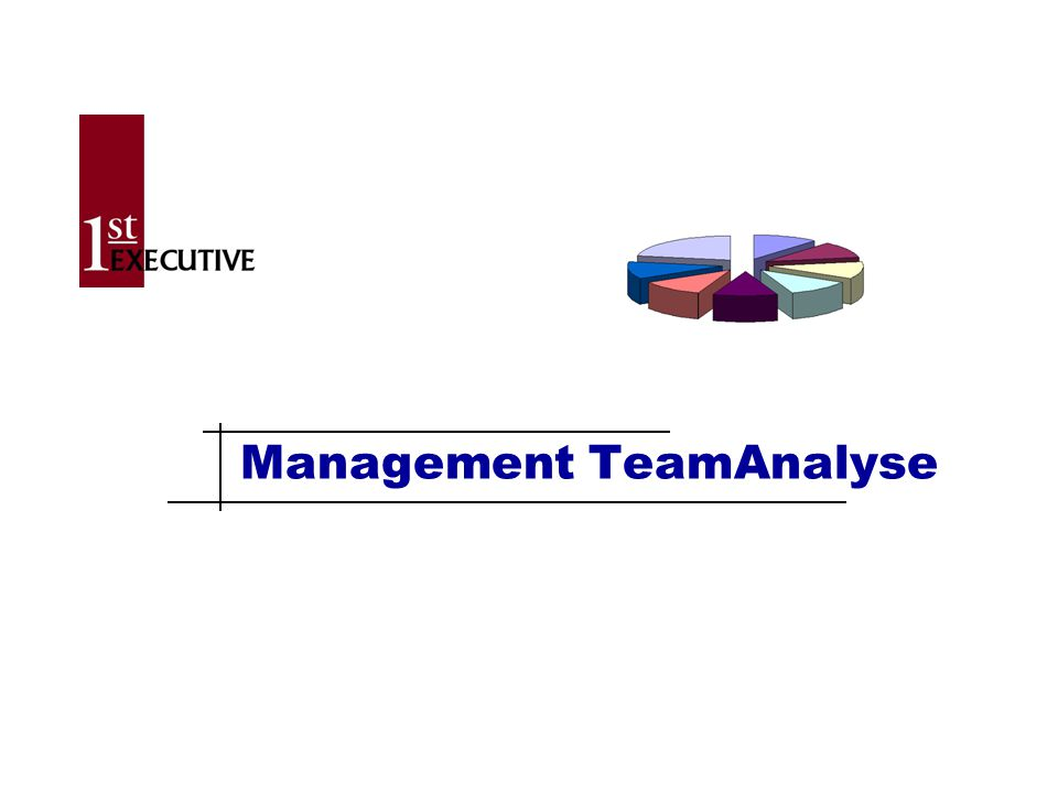 Management TeamAnalyse