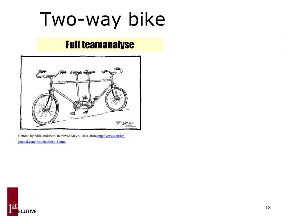 18 Two-way bike Full teamanalyse