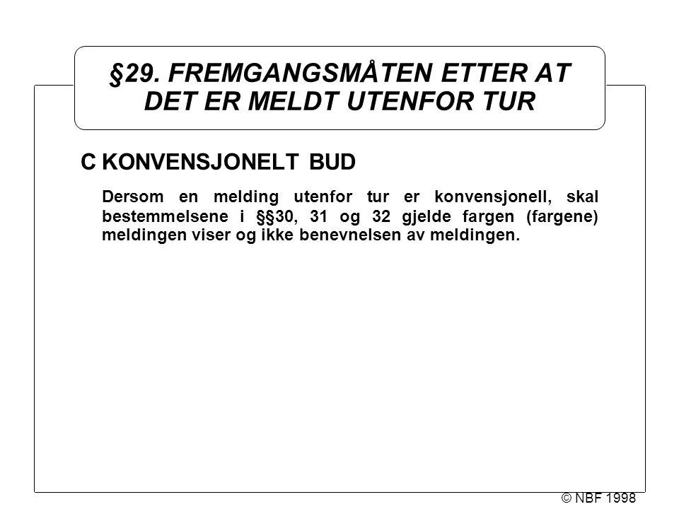 © NBF 1998 §29.