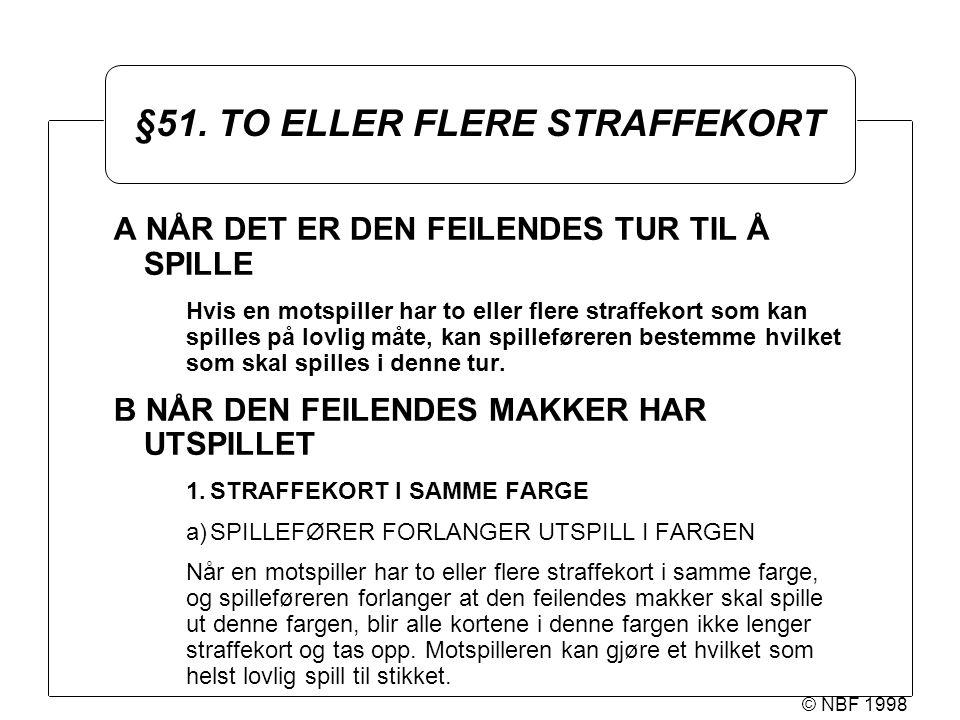 © NBF 1998 §51.