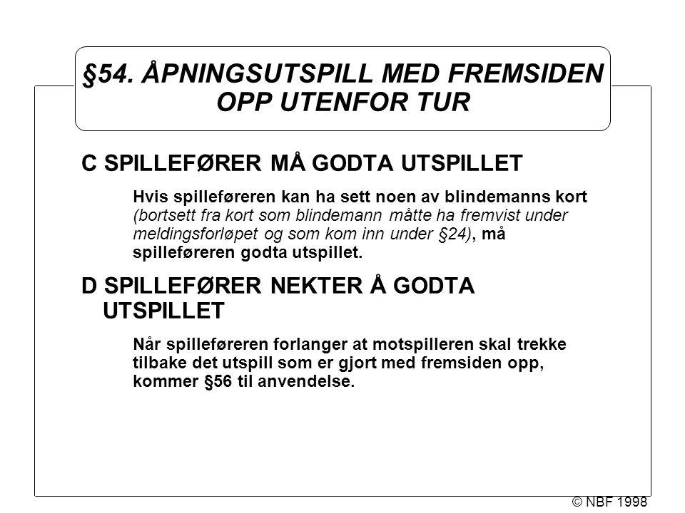 © NBF 1998 §54.
