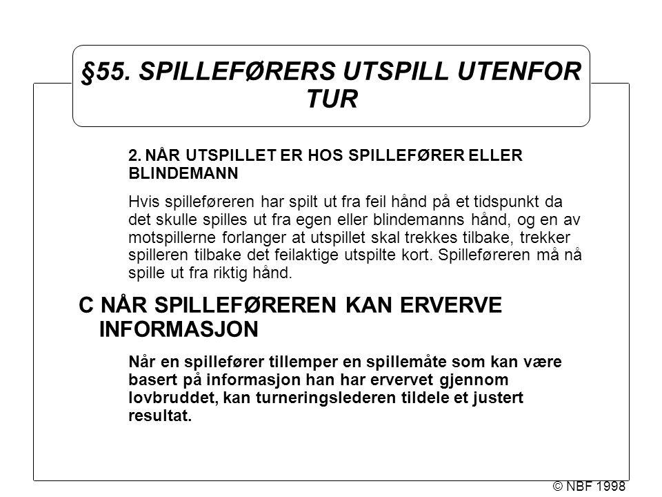 © NBF 1998 §55.
