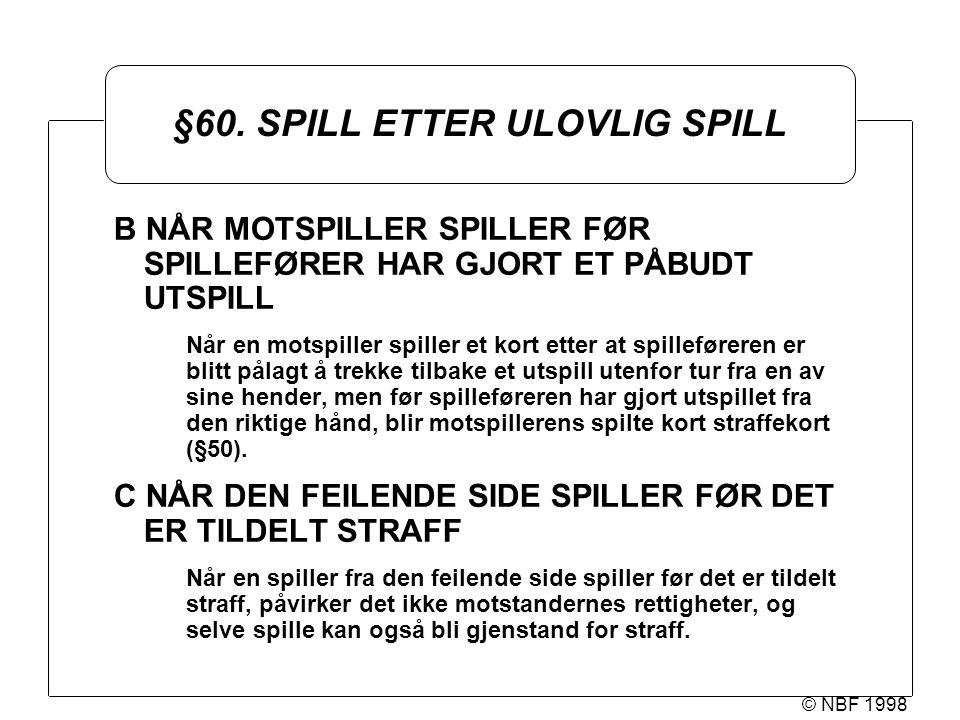 © NBF 1998 §60.