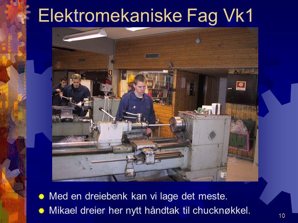 """9 FFresemaskinen gir mange utfordringer. HHer er det Kjetil og Marius som """"fintenker"""""""