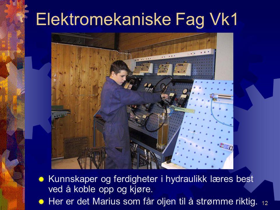 11 Elektromekaniske Fag Vk1 ÅÅ dreie kilereimskive er ikke så helt enkelt FFrode og Remi gjør en god jobb.