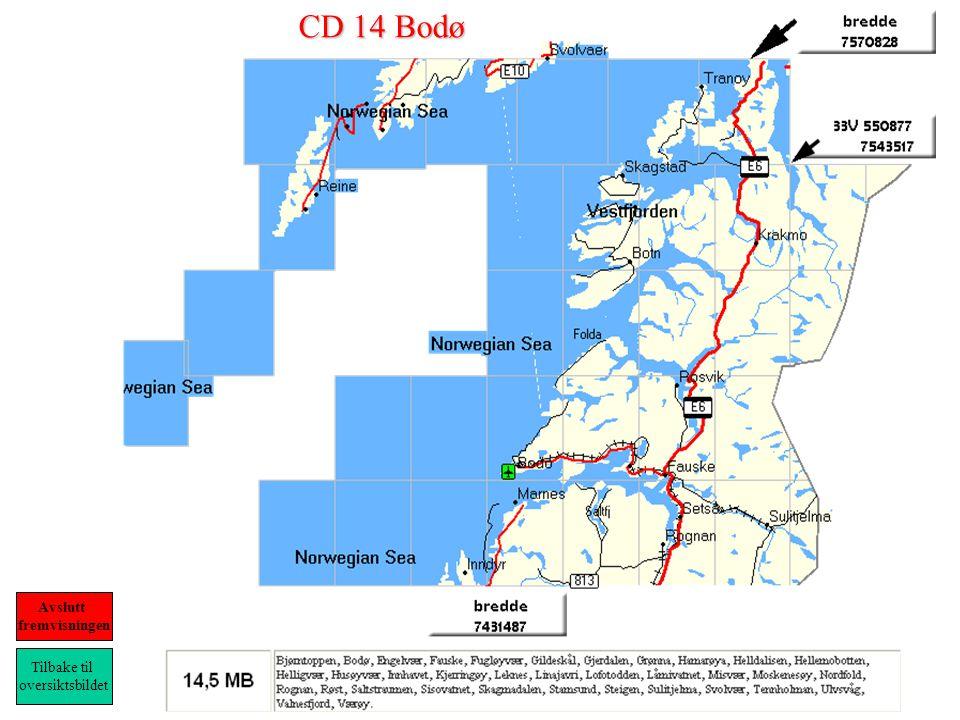 CD 14 Bodø Tilbake til oversiktsbildet Avslutt fremvisningen