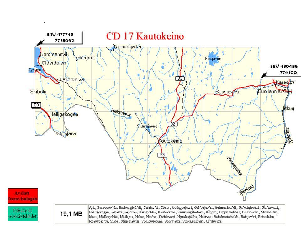 CD 17 Kautokeino Tilbake til oversiktsbildet Avslutt fremvisningen