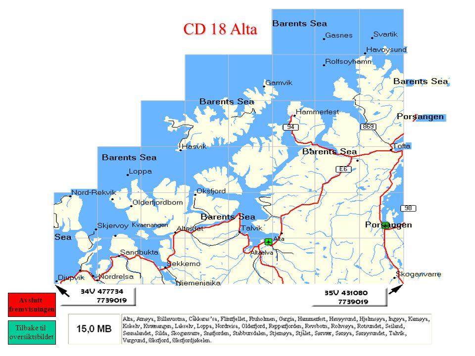 CD 18 Alta Tilbake til oversiktsbildet Avslutt fremvisningen