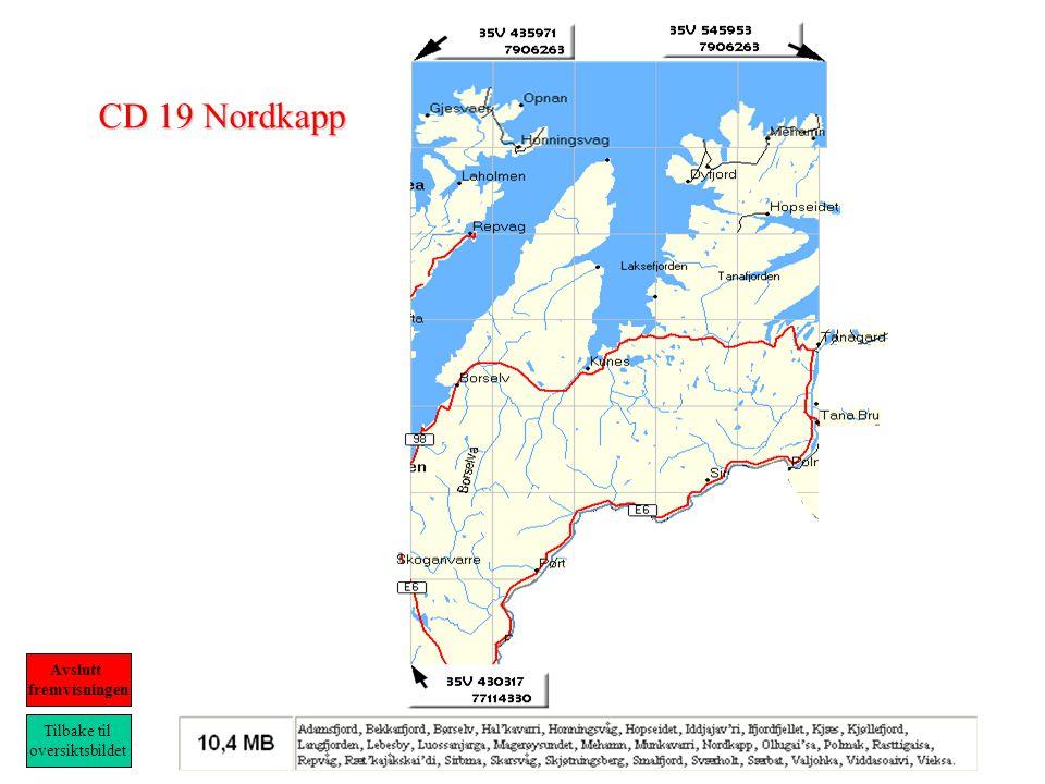 CD 19 Nordkapp Tilbake til oversiktsbildet Avslutt fremvisningen