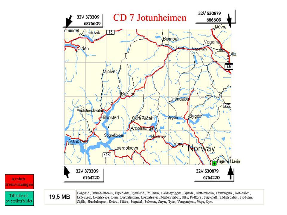 CD 7 Jotunheimen Tilbake til oversiktsbildet Avslutt fremvisningen