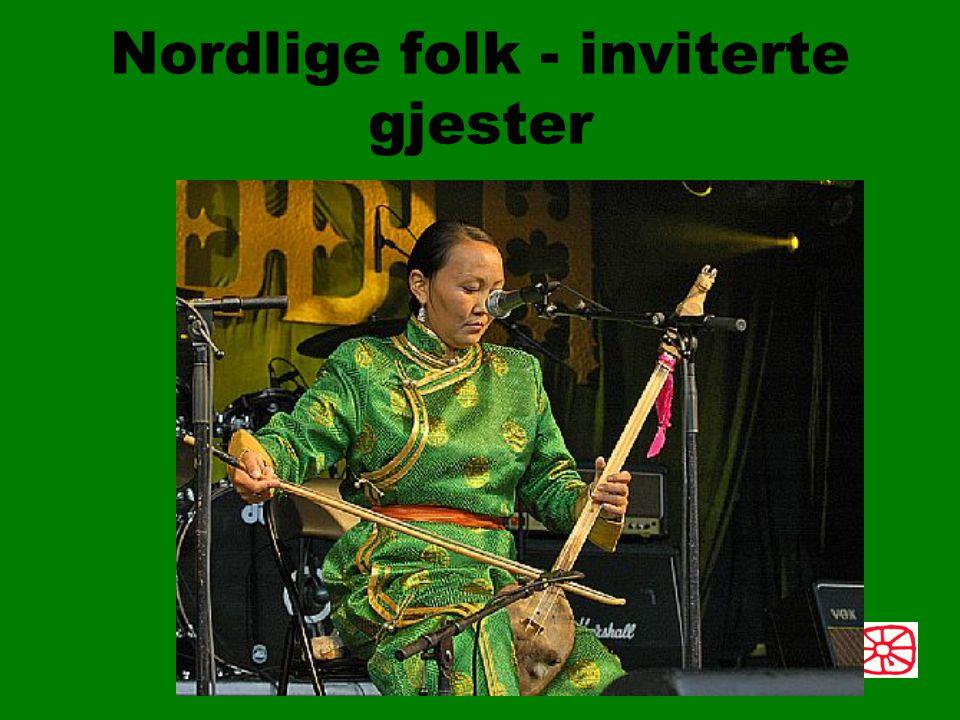 Nordlige folk - inviterte gjester