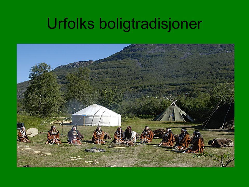 Urfolks boligtradisjoner